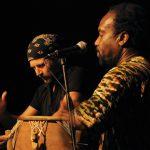 Percussion-Duo mit Nii Ashitey