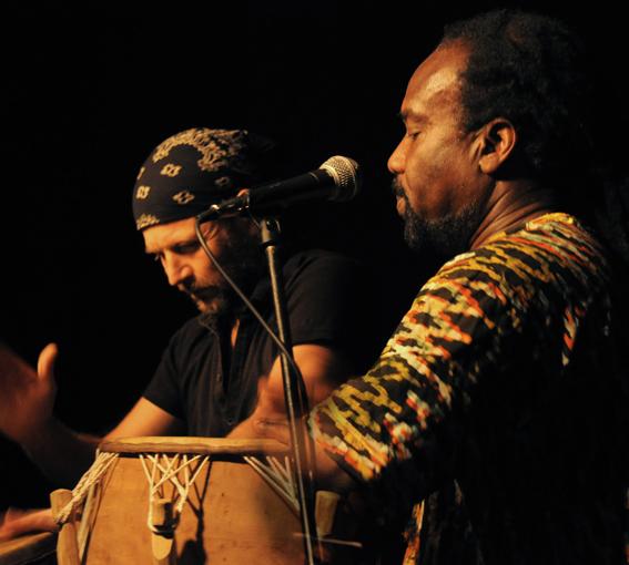 Dirk und Nii Ashitey